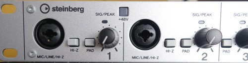 Steinbergのオーディオ・インターフェイス「UR-824」