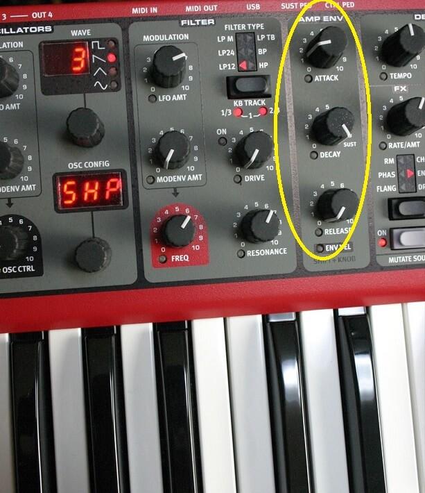 【初心者のためのシンセ音作り】基本その1 音の出だしとADSR