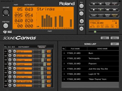 SOUND Canvas for iOS1