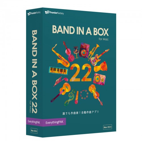 Band-in-a-Box 22 for Mac1