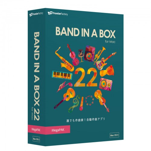 Band-in-a-Box 22 for Mac3