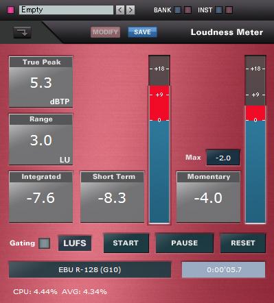 LoudnessMeter
