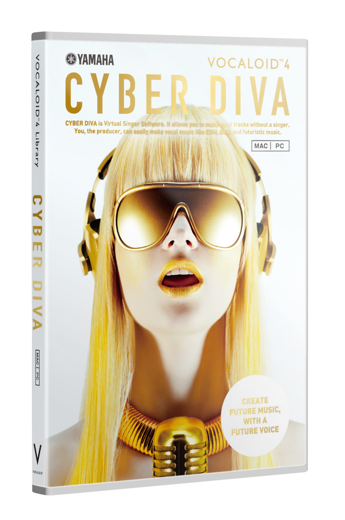 vocaloid4 library cyber diva_3D