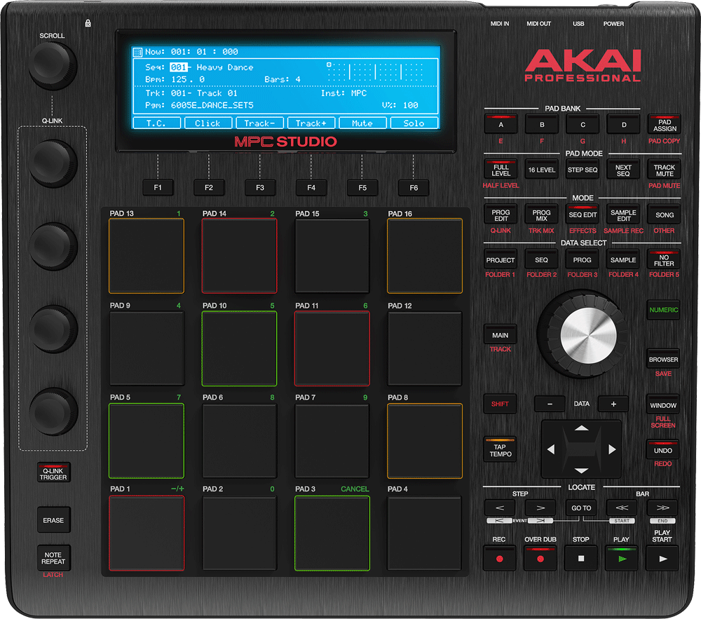 AKAI_MPCStudio_Black