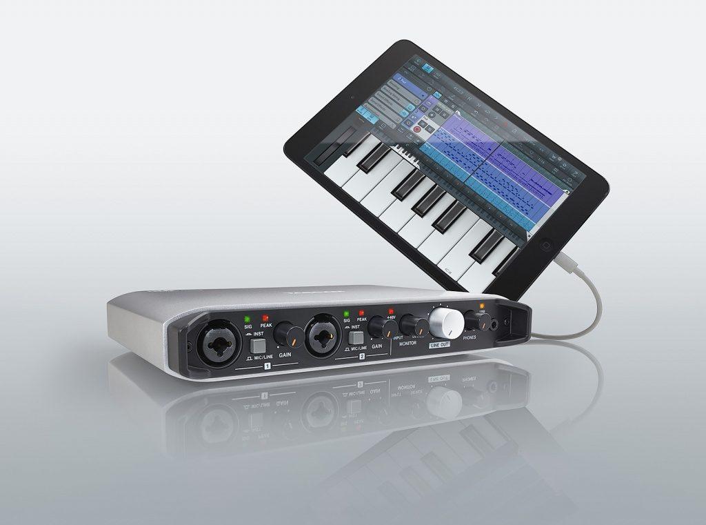 iOS/Mac/Windowsで使えるオーディオ/MIDI インターフェースTASCAM ( タスカム )「 iXR 」