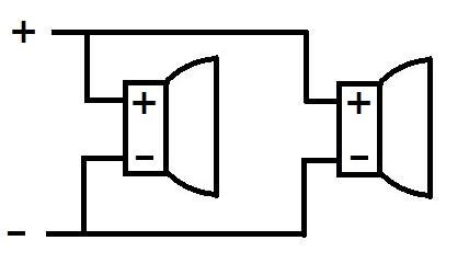 パラレル接続の配線イメージ