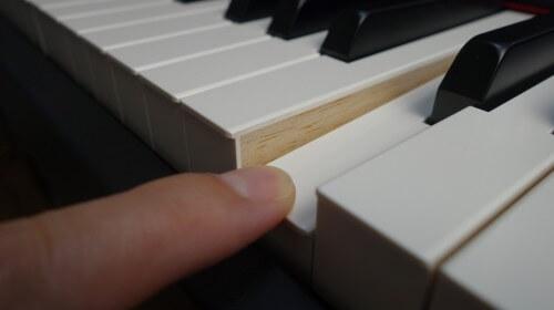 YAMAHA CP4 Stageの鍵盤