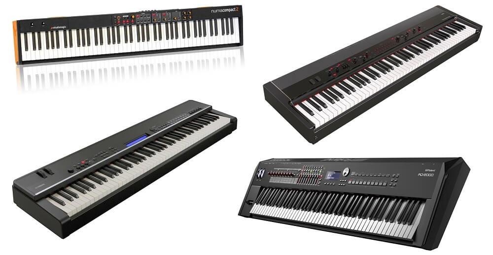ライブや自宅でもおすすめ! 88鍵盤 ステージピアノ比較