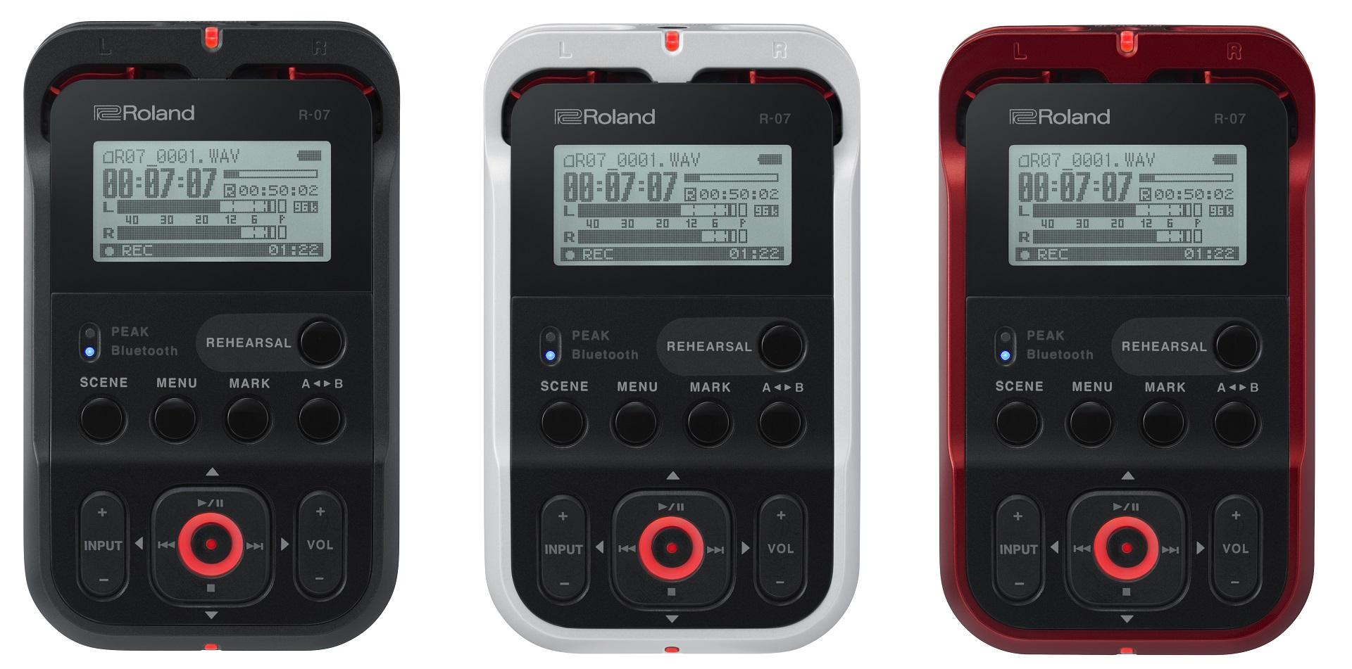 ハイレゾ・オーディオ・レコーダー Roland R-07