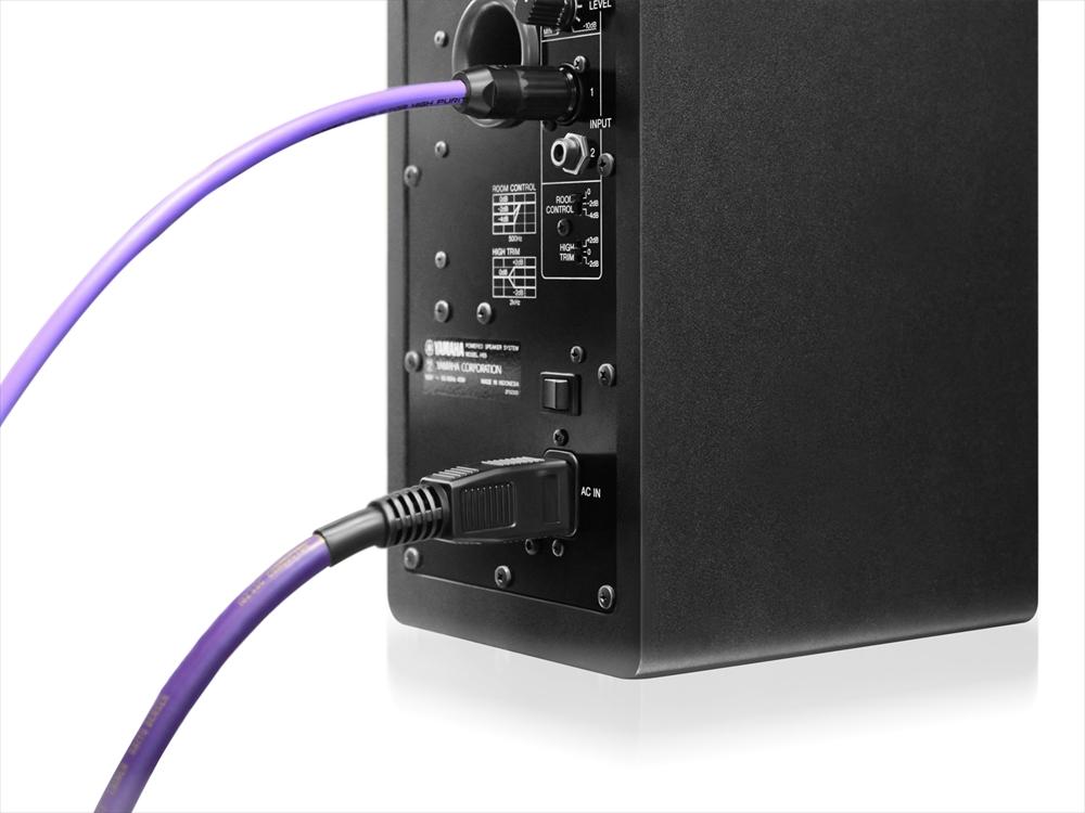 oyaide AXIS-303GX | 高解像度、広レンジ、フラットなサウンドを実現する高性能電源ケーブル