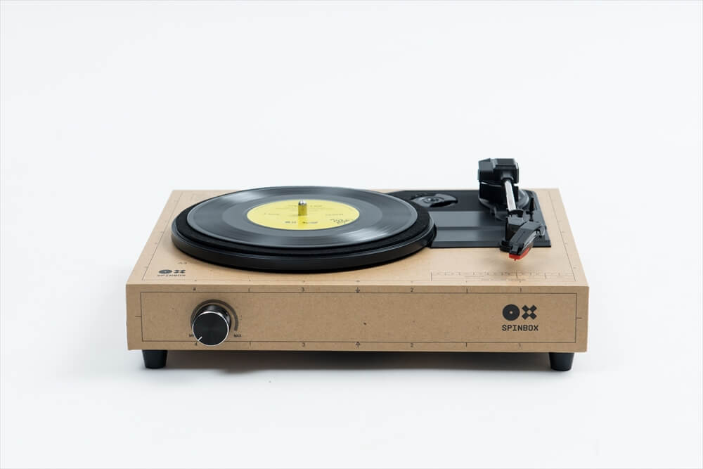 SPINBOX 自分で組み立てる DIY ポータブル・レコードプレーヤー・キット