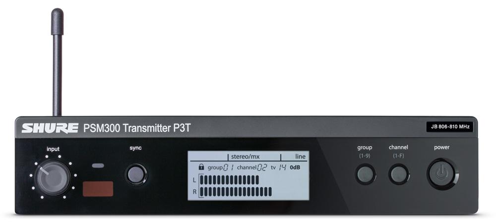 ShureP3T_Transmitter