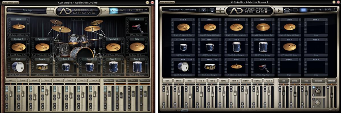 xln audio addictive drums 2 digiland. Black Bedroom Furniture Sets. Home Design Ideas