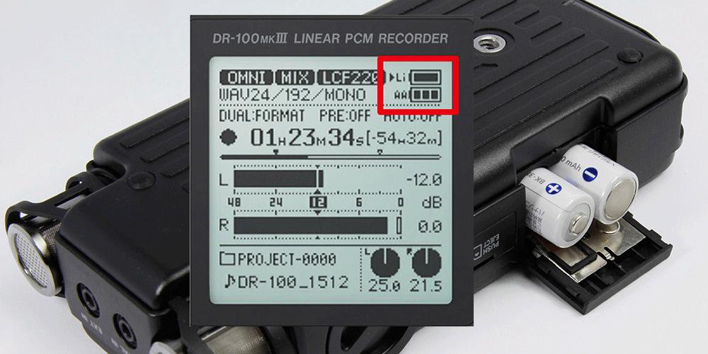 TASCAM_DR-100mk3_battery