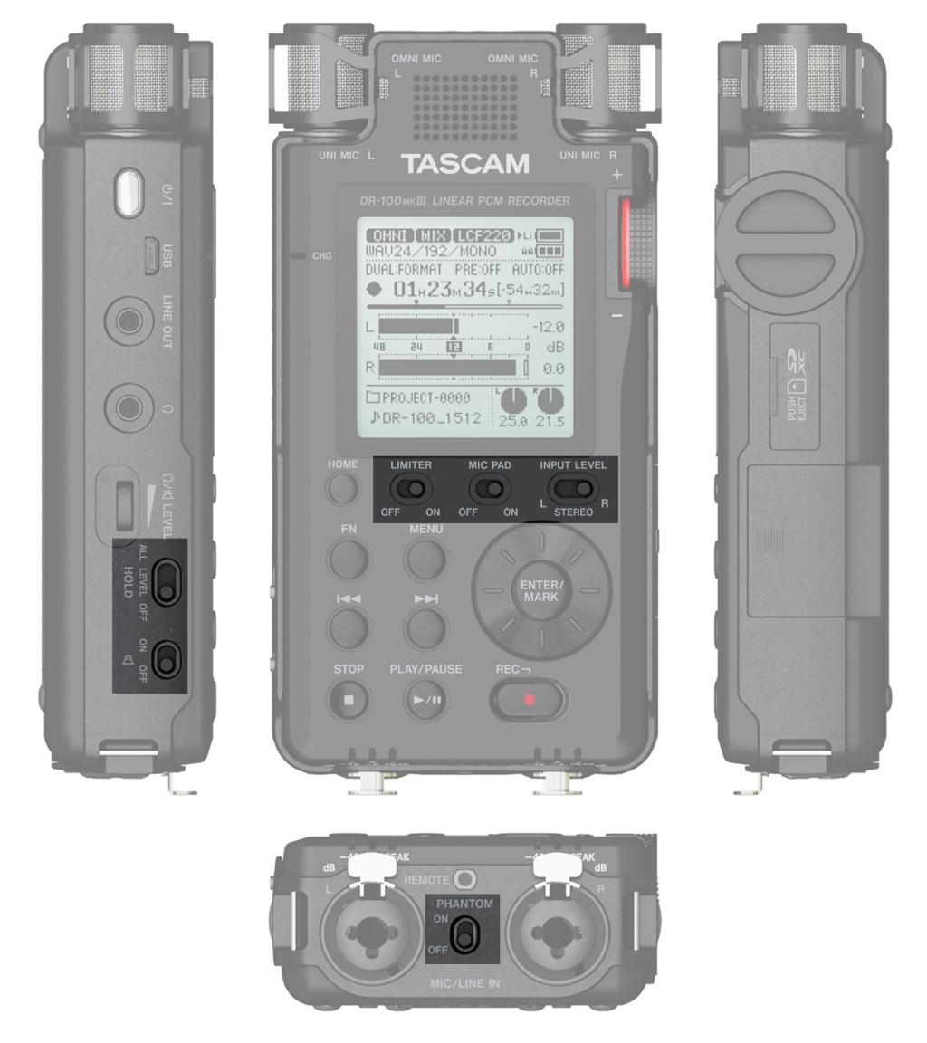 TASCAM_DR-100mk3_button