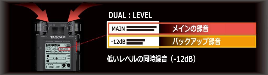 TASCAM_DR-100mk3_dualrec