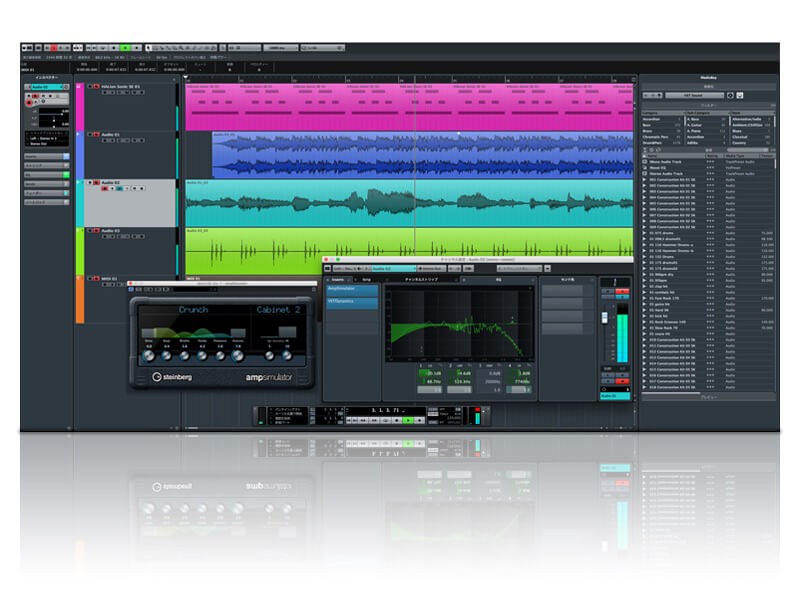 Windows/ Mac用DAW Steinberg Cubase LEのラインセンスをバンドル