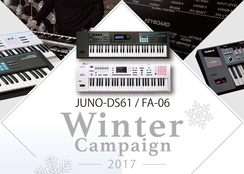JUNO-DS61/FA-06 Winter Campaign