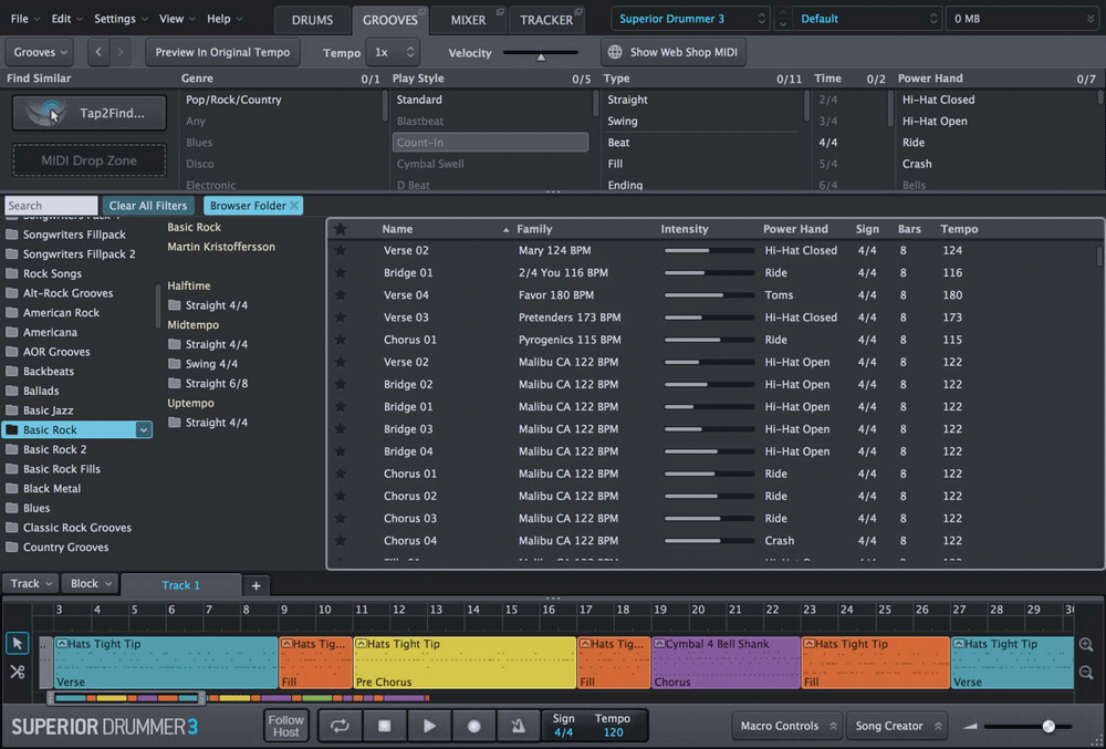 toontrack SD3 Grooves