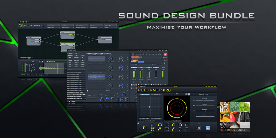 KROTOS Sound Design Bundle