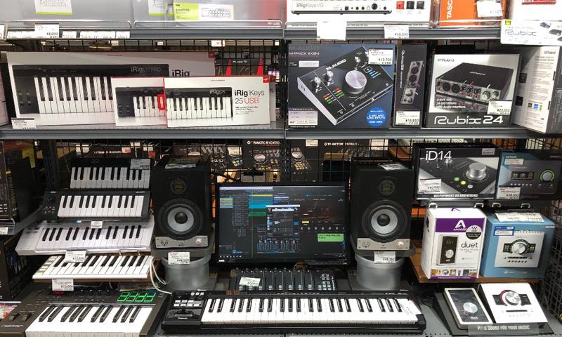 福岡 MIDIコントローラー コーナー