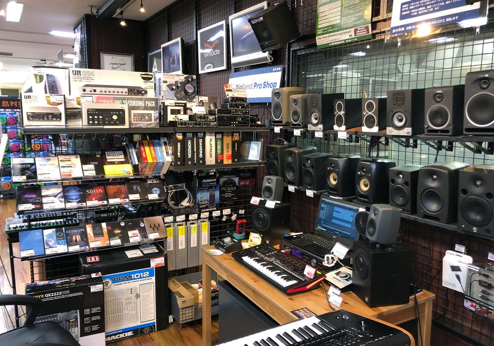 デジタル音楽機材 専門ショップ Digiland Pro Shop 広島パルコ店