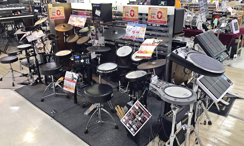 川崎 電子ドラム コーナー