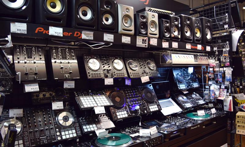 名古屋 DJ 機材 コーナー