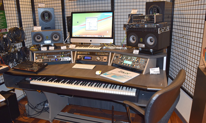 名古屋 レコーディング 機材ブース