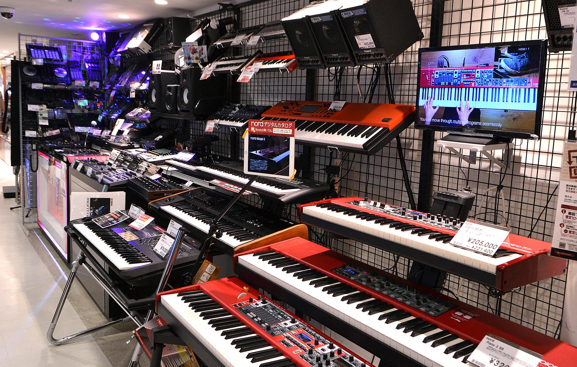 デジタル音楽機材 専門ショップ Digiland Pro Shop 新宿PePe店