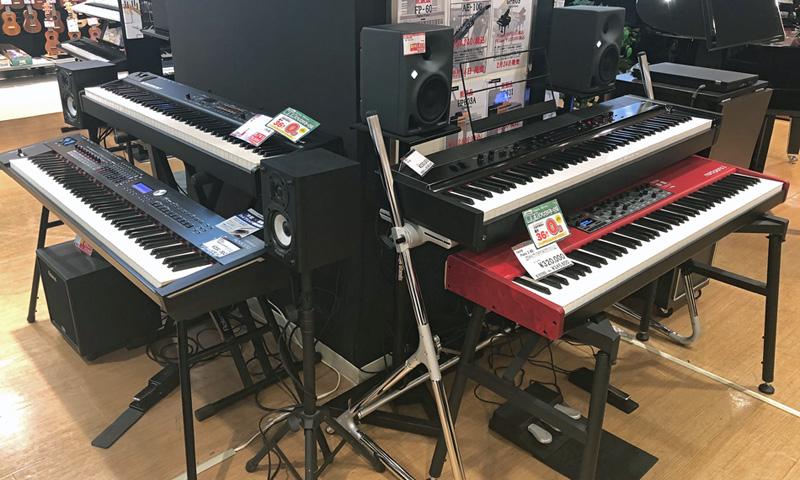 新宿 ステージピアノ コーナー