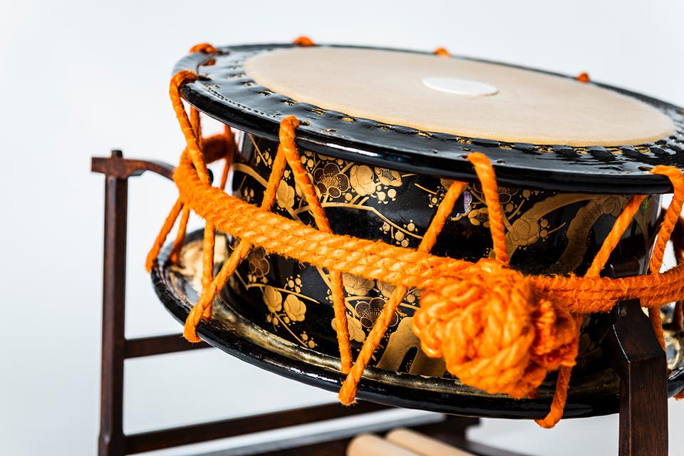 締太鼓の各種奏法を余すことなく収録