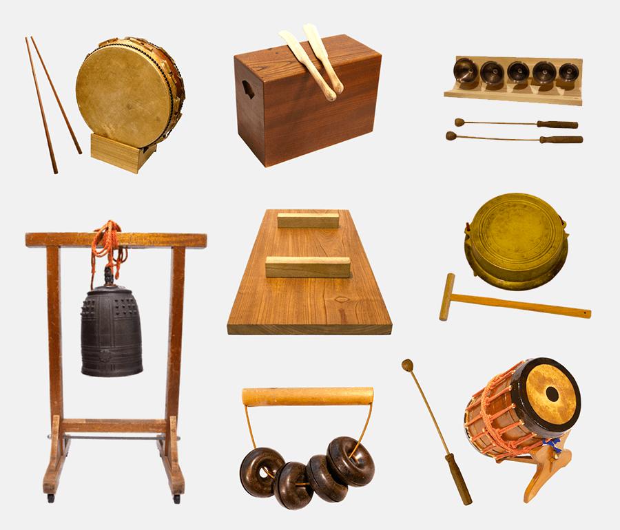 歌舞伎の効果音で使用される珍しい楽器