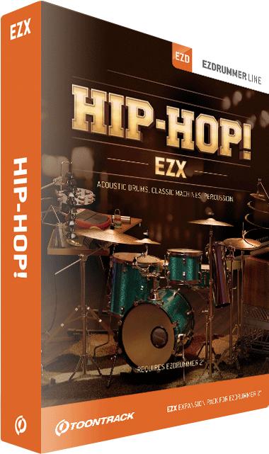 百科事典並の収録内容!ヒップホップ専用EZX拡張ドラム音源 EZX HIP-HOP !