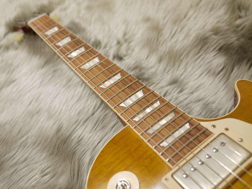 Standard Historic 1958 Les Paul Reissue VOS M50Mの指板画像