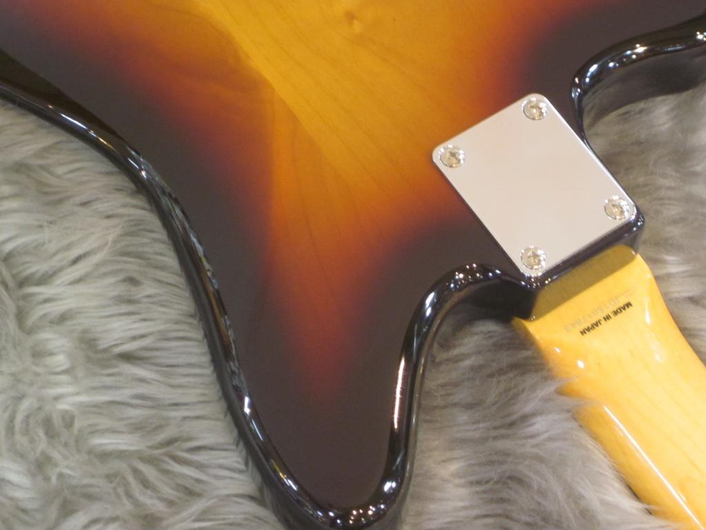 Exclusive Classic 60s Jaguar / Rosewood / 3-Color Sunburstの指板画像
