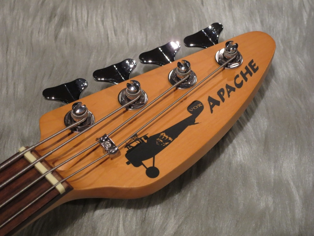 APACHE-I BASSのヘッド画像