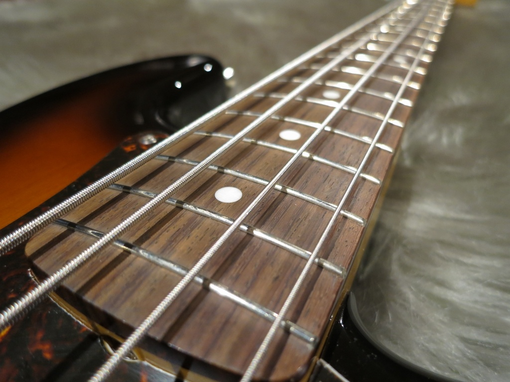 Japan Exclusive Classic Special '60s P Bassの指板画像