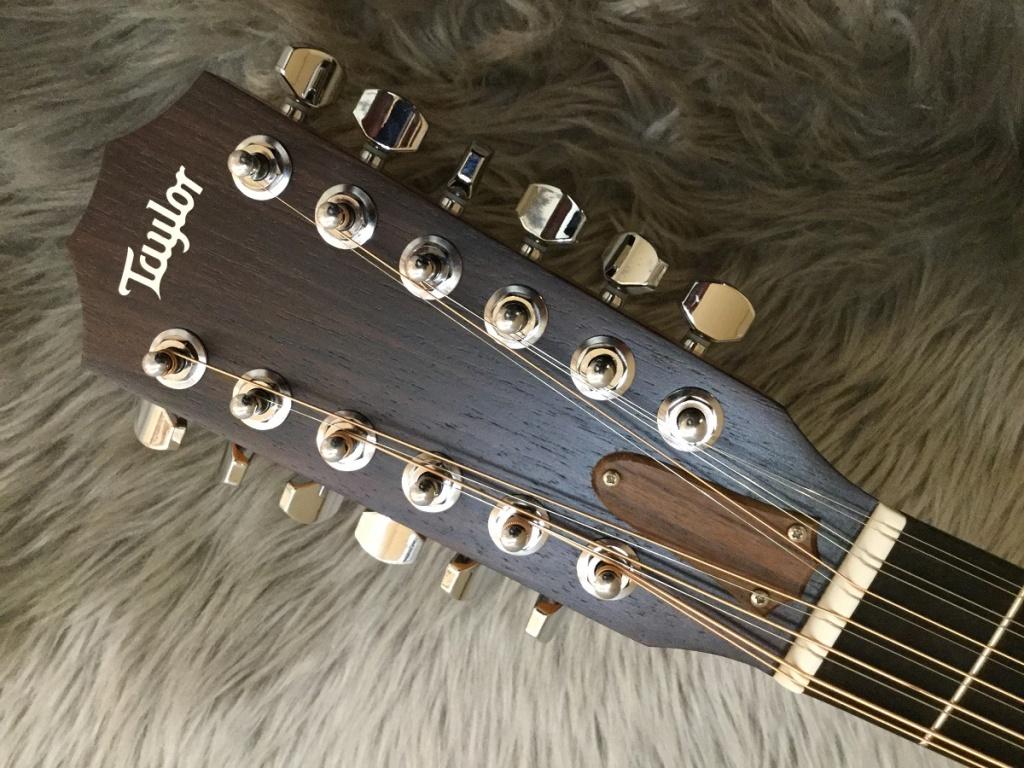 254ce DLX 12-Stringのヘッド画像