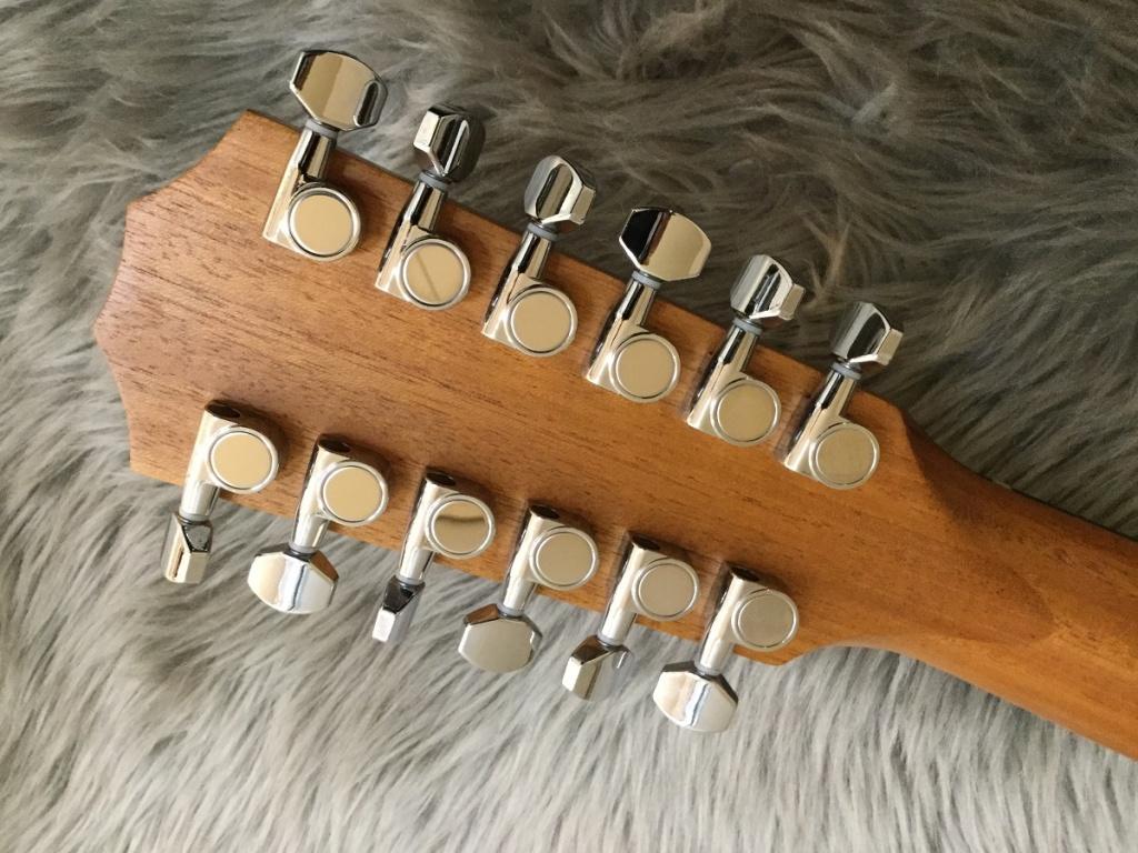 254ce DLX 12-Stringのヘッド裏-アップ画像