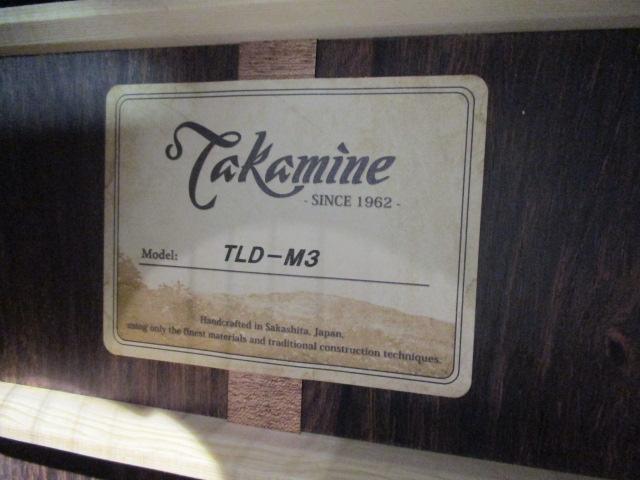 TLD-M3の指板画像