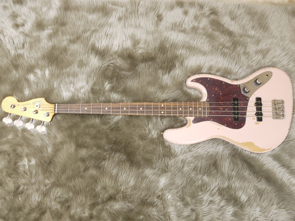 Flea Jazz Bass Rosewood Fingerboardの全体画像(縦)
