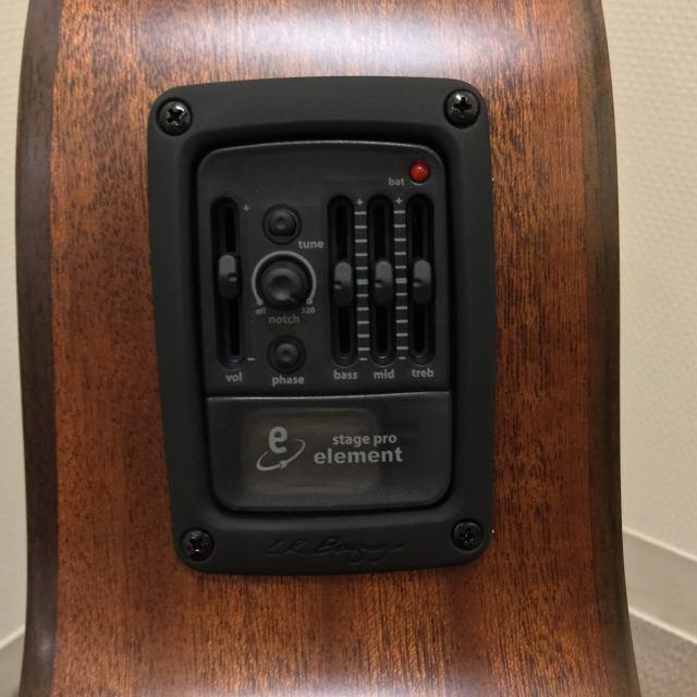 CAG-100HW-Eの指板画像
