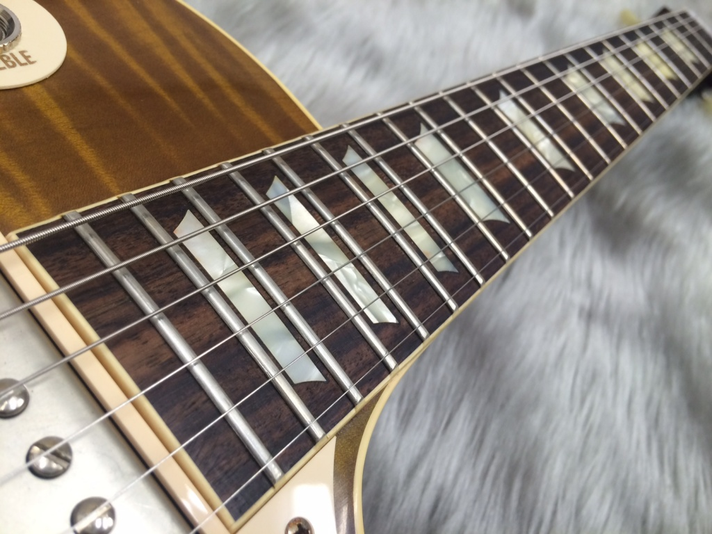 Standard Historic 1959 Les Paul Reissue VOS PSLの指板画像