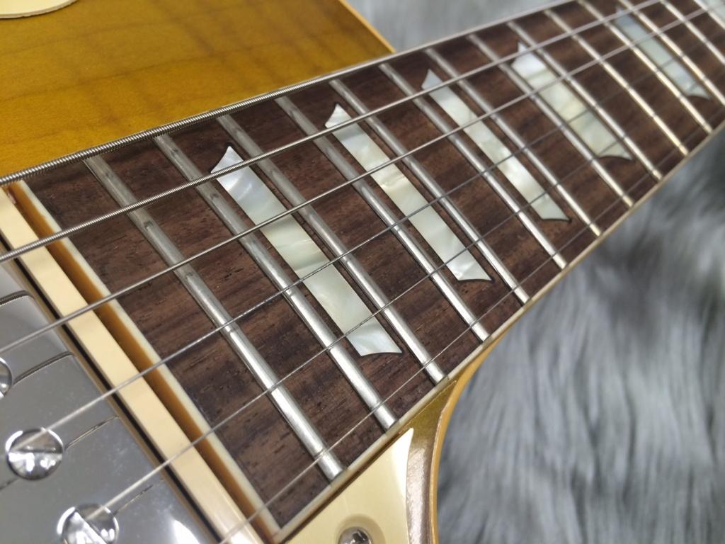True Historic 1958 Les Paul Reissueの指板画像