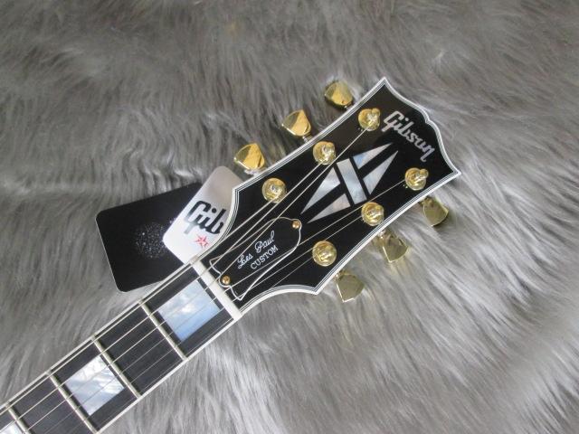 Les Paul Customのヘッド画像