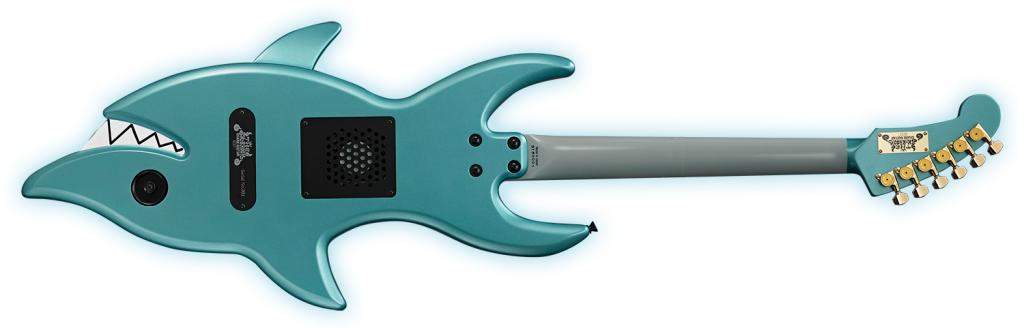 SHARK GUITARのボディバック-アップ画像