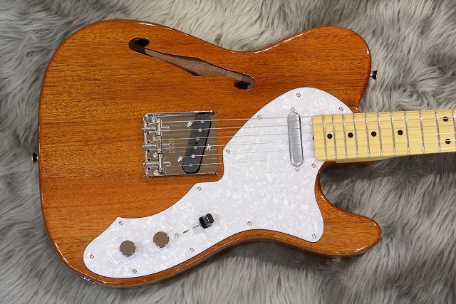 Japan Exclusive Series Classic 69 Tele Thinline Maple Fingerboardの全体画像(縦)