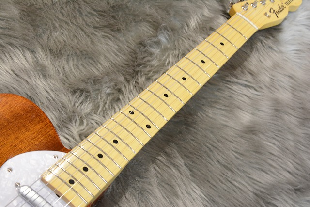 Japan Exclusive Series Classic 69 Tele Thinline Maple Fingerboardの指板画像