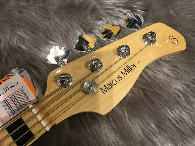 SIRE MARCUS MILLER V7 VINTAGE BASS 4ST (ASH)のヘッド画像